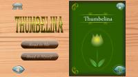 Thumbelina Popup Book - Menu