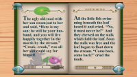 Thumbelina Popup Book - Normal reading pages