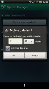 TrustGo Antivirus - Manage data