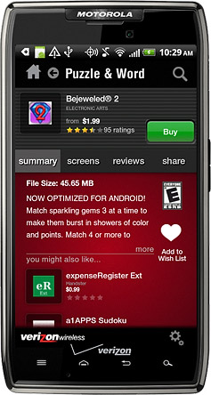 Verizon Apps Closing January 2013, Shameless Plug to Sell Your Apps with AndroidTapp