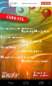 Wacky Hedgehog Jump - Credits