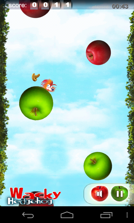 Wacky Hedgehog Jump – quirky jump game app for the kiddies