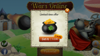 Wars Online - In app 'offers'