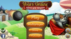 Wars Online - Menu