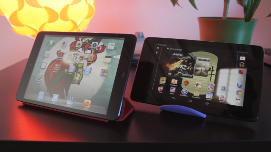 iPad Mini vs Nexus 7: which is best? [GIVEAWAY]