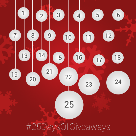 Day 1: #25DaysOfGiveaways – Win $10 Google Play gift card