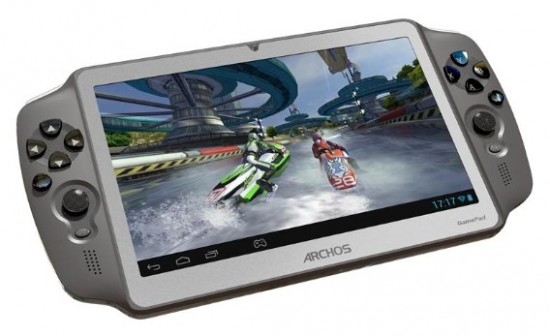 ARCHOS GamePad tablet available in Europe, hits US early 2013