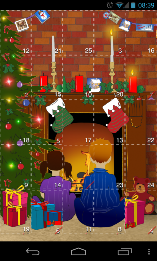 Advent 2012: 25 Christmas Apps – novel tool to discovery one new free Android app every day until Christmas!