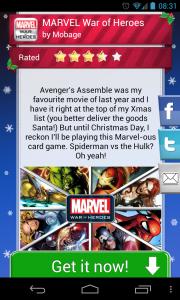 Advent 2012 25 Christmas Apps - App intro 3