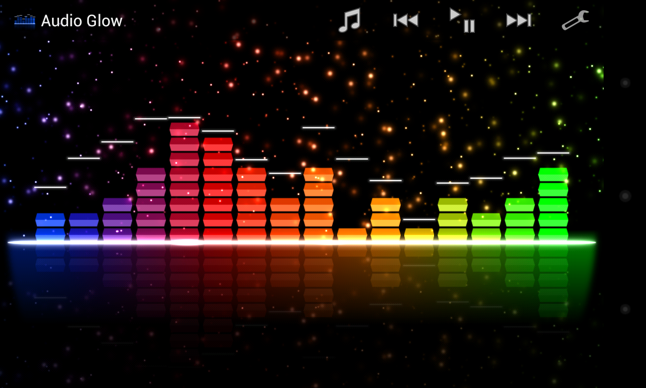 graphic equalizer live wallpaper windows