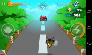 Bumblebee Race - Avoid cars