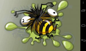 Bumblebee Race - Game over