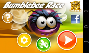 Bumblebee Race - Menu