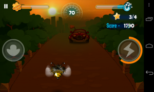 Bumblebee Race - Night time levels