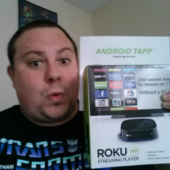 Carl Bondietti - Winner of Roku HD from #25DaysOfGiveaways 2012