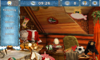Christmasville Missing Santa Find Hidden Objects Zoomed In