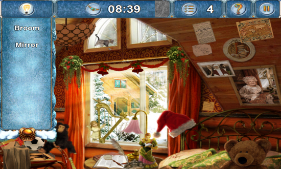Christmasville: Missing Santa. A quaint fairy tale find the hidden objects game to save Santa!