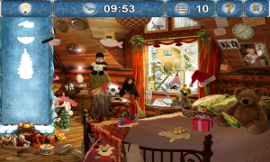 Christmasville Missing Santa Find Hidden Objects by Silhouette