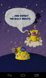 Clay Jam - Bully Beasts are the end of level baddies