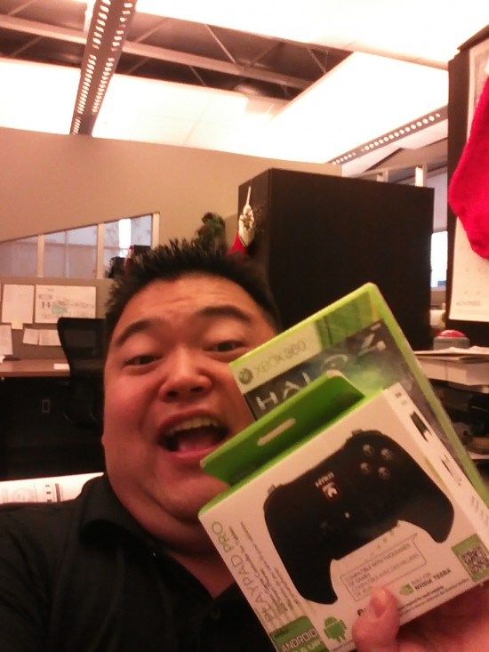 Clinton Mukai - Won HALO 4 and Nyko PlayPad Pro from #25DaysOfGiveaways 2012