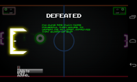 Pong Galaxy - Defeat