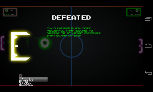 Pong Galaxy - Defeat