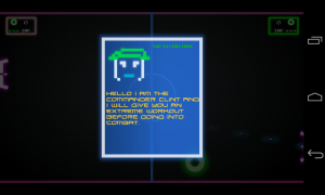 Pong Galaxy - Instructions and dialogue