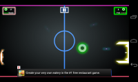 Pong Galaxy - Sadly those banner ads get in the way slightly