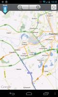 Here!hush - Map view