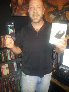 Jason Barley 4G Clear Hotspot and $25 Google Play Gift Card in #25DaysOfGiveaways 2012