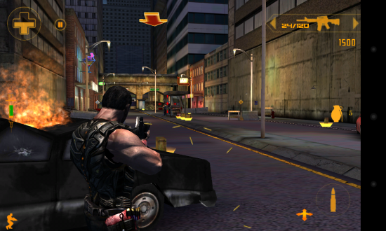 M.U.S.E. – battle cyborg army in this gungho action filled third-person shooter game for Android