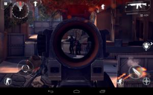 Modern Combat 4 Zero Hour Between Sniper Crosshairs
