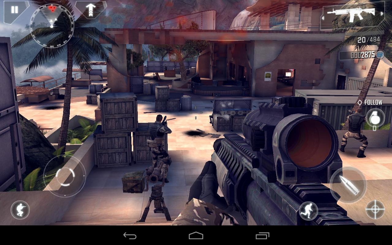Modern Combat 4: Zero Hour - trucchi e apk per download ...
