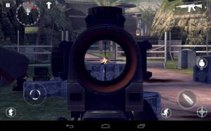 Modern Combat 4 Zero Hour Sniper Shooting