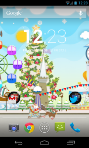 My Christmas Wonderland - Homescreen