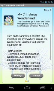 My Christmas Wonderland - Instructions