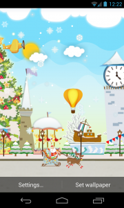 My Christmas Wonderland - Set airplanes, baloons and more