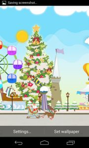 My Christmas Wonderland - Tree can be stationary if you want it to