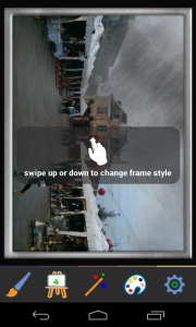 Photo Painter - Frame adjustment and vignetting