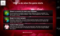 Plague Inc - Help screen