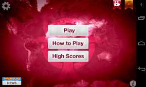 Plague Inc - Main menu