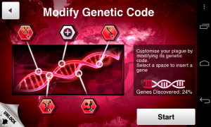 Plague Inc - Modify genetic code