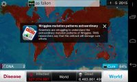 Plague Inc - News pop ups