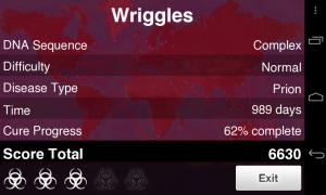 Plague Inc - Score