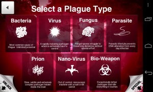 Plague Inc - Select plague type