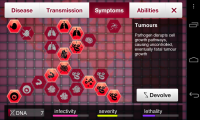 Plague Inc - Symptoms
