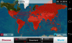 Plague Inc - Typical gameplay screens (4)