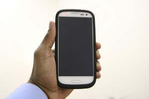PowerSkin for Samsung Galaxy S III Front View