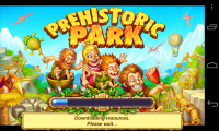 Prehistoric Park - Loading screen
