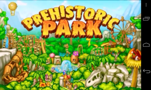 Prehistoric Park - Splash screen